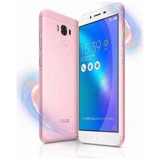 Zenfone 3 Maxピンク「ZC553KL-PK32S3」・Snapdragon 430 5.5型ワイド・メモリ/ストレージ:3GB/32GB・microSIM×1 nanoSIM×1・ドコモ/au/Ymobile SIM対応 SIMフリースマートフォン