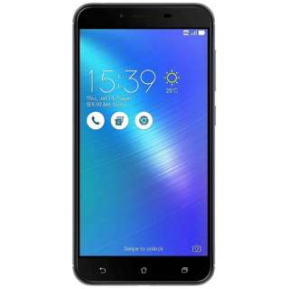 Zenfone 3 Maxグレー「ZC553KL-GY32S3」・Snapdragon 430 5.5型ワイド・メモリ/ストレージ:3GB/32GB・microSIM×1 nanoSIM×1・ドコモ/au/Ymobile SIM対応 SIMフリースマートフォン