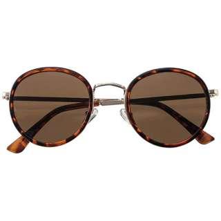 ファッションサングラス 7838-02(デミブラウン×ゴールド/ブラウン)
