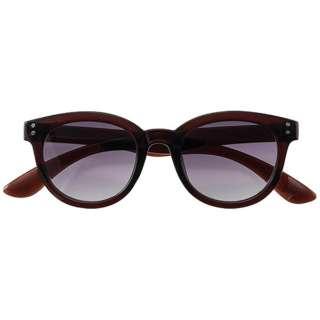 ファッションサングラス 7835-03(ブラウン/スモークハーフ)