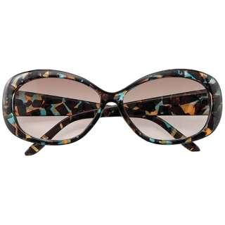 ファッションサングラス 7831-03(マーブルデミ/ブラウンハーフ)