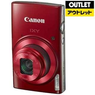 【アウトレット品】 IXY190 コンパクトデジタルカメラ IXY(イクシー) レッド 【生産完了品】