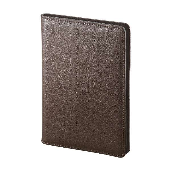 スキミング防止パスポートケース ブラウン