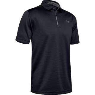 bff1d7fb0 Men s golf polo shirt technical center polo (XL size black X graphite X  graphite). Under Armour UNDER ARMOUR