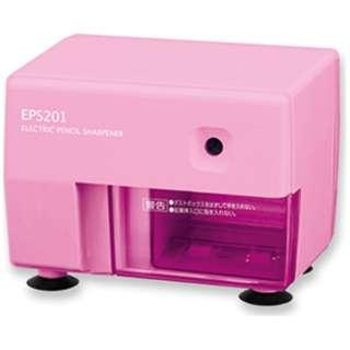 ムダ削り防止機構つき電動シャープナー ピンク EPS201P