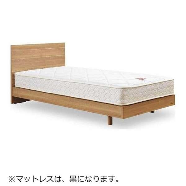 【フレーム&マットレス】フランスベッド 収納なし メモリーナ65[レッグ/スノコ床板](シングルサイズ/ナチュラル) + ZT-020セット【日本製】