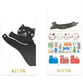 [マスキングテープ]KITTA(キッタ)ネコ