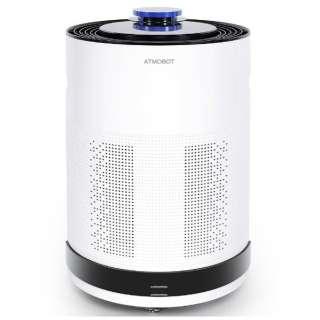A650 空気清浄機 ATMOBOT プラチナホワイト [適用畳数:72畳 /PM2.5対応]