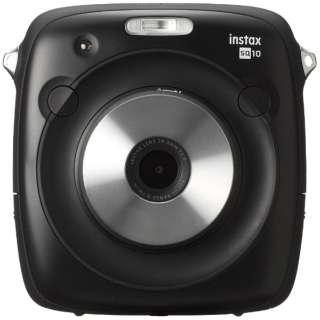 ハイブリッドインスタントカメラ 『チェキ』 instax SQUARE SQ10(ブラック)
