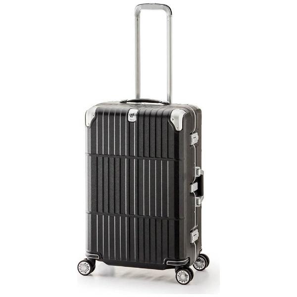 スーツケース ハードキャリー 95L departure(ディパーチャー) レザーマットブラック HD-509-30.5 [TSAロック搭載]