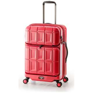 スーツケース ハードキャリー 54L(62L) PANTHEON(パンテオン) パープリッシュピンク PTS-6006 [TSAロック搭載]