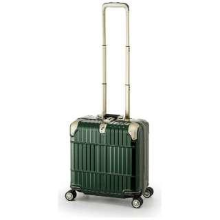スーツケース ハードキャリー 31L departure(ディパーチャー) シャイニンググリーン HD-509-16 [TSAロック搭載]