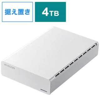 ELD-ERH040UWH 外付けHDD ホワイト [据え置き型 /4TB]