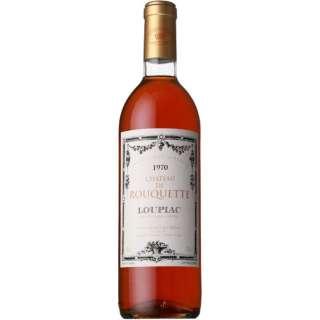 シャトー・ド・ルーケット 1970 750ml【白ワイン】