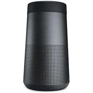 SLINKREVBLK ブルートゥース スピーカー SoundLink Revolve ブラック [Bluetooth対応 /防滴]