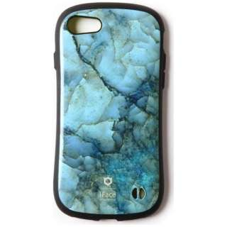 iPhone 7用 iFace First Class Marble ブルー