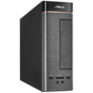 K20CE-J3060 デスクトップパソコン K20CD ダークシルバー [モニター無し /HDD:1TB /メモリ:4GB /2017年4月]