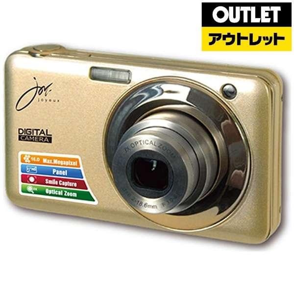 【アウトレット品】 コンパクトデジタルカメラ JOY-V600 ゴールド 【生産完了品】