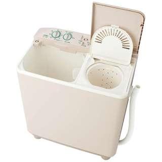 AQW-N351-HS 2槽式洗濯機 ソフトグレー [洗濯3.5kg /乾燥機能無 /上開き]