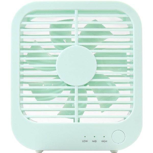 デスクファン/無印良品/扇風機/低騒音デスクファン