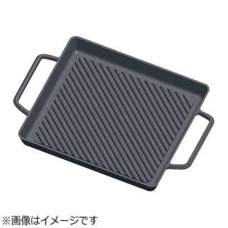 《IH対応》 TKG 鉄鋳物グリルパン 大 <AGLA902>