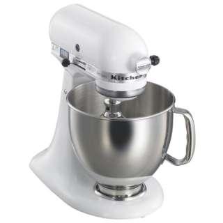 キッチンエイドミキサー ヘッドアップ式 ホワイト KSM150WH <CKT4901>