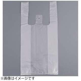 レジ袋 半透明 紐付き・エンボス付き(100枚入) No.8 <XLZ4701>