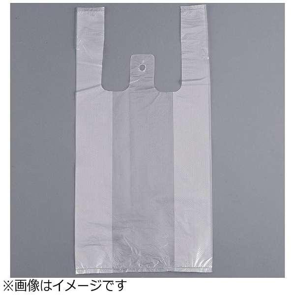 レジ袋 半透明 紐付き・エンボス付き(100枚入) No.20 <XLZ4703>