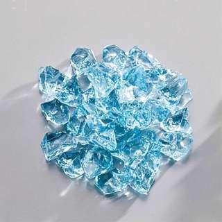 アクリル ロックアイス(1kg入) ブルー <QLT0702>