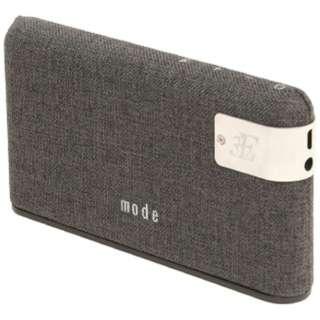 3E-BSP3-GR ブルートゥース スピーカー mode(モード) グレー [Bluetooth対応]