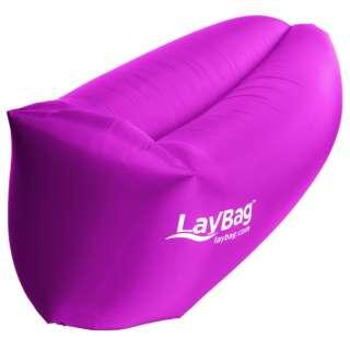 エアーベッド LAYBAG(ピンク/100×210cm) LCCLPINK