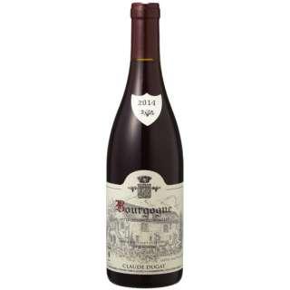 [正規品] クロード・デュガ ブルゴーニュ ルージュ 2014 750ml【赤ワイン】