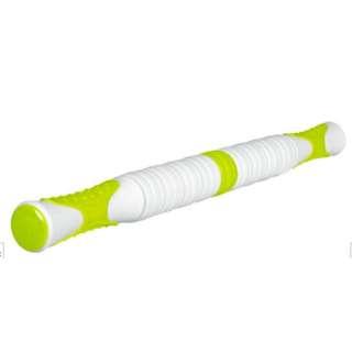 健康グッズ 筋膜ローラー ほぐ師(ホワイト×グリーン) 3B-4742