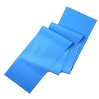 健康グッズ フィットネスバンド ハード(ブルー) 3B-3012