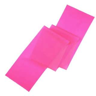 健康グッズ フィットネスバンド ソフト(ピンク) 3B-3011