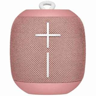 ブルートゥース スピーカー WS650PK ピンク [Bluetooth対応 /防水]