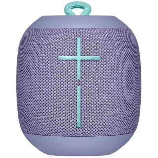 ブルートゥース スピーカー WS650LI ライラック [Bluetooth対応 /防水]