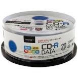 TYCR80YPW20SP データ用CD-R TYコードシリーズ ホワイト [20枚 /700MB /インクジェットプリンター対応]