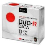 TYDR47JNP10SC データ用DVD-R TYコードシリーズ ホワイト [10枚 /4.7GB /インクジェットプリンター対応]