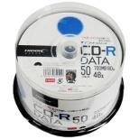 TYCR80YP50SP データ用CD-R TYコードシリーズ ホワイト [50枚 /700MB /インクジェットプリンター対応]