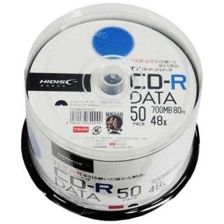 データ用CD-R TYコードシリーズ ホワイト TYCR80YP50SP [50枚 /700MB /インクジェットプリンター対応]