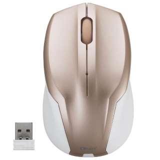 MUS-RKT125P マウス Digio2 ピンク [BlueLED /3ボタン /USB /無線(ワイヤレス)]