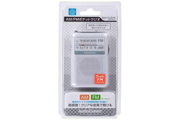 オーム電機「AudioComm」RAD-P122N(アナログ)