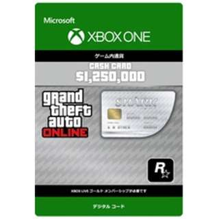 Grand Theft Auto V:ホワイトシャークマネーカード【XboxOneソフト[ダウンロード版]】