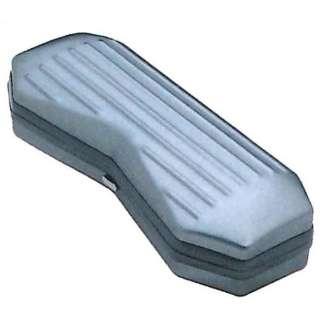 アルミハード メガネケース(グレー)BX3-26-33
