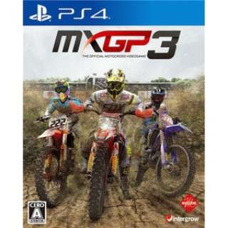 MXGP3 - The Official Motocross Videogame【PS4ゲームソフト】