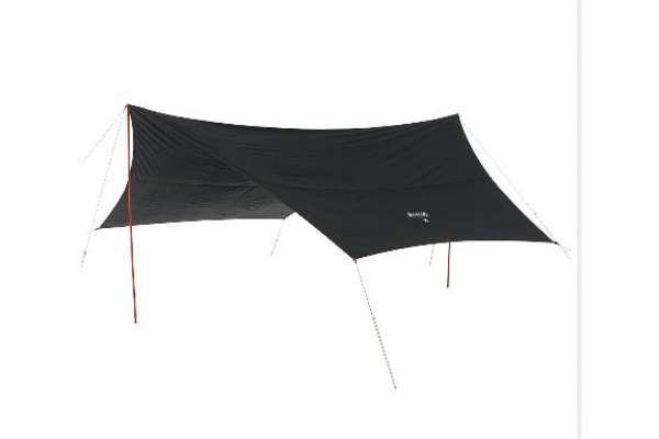 ロゴス「Black UV ヘキサタープ」71808022(タープ)
