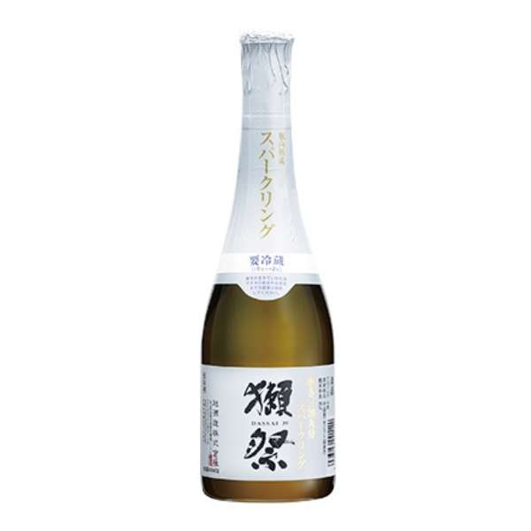 【ビック酒販正規取り扱い店舗限定】 獺祭(だっさい) 磨き三割九分 スパークリング 360ml【日本酒・清酒】