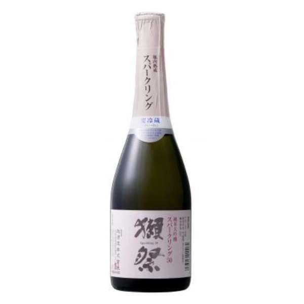 【ビック酒販正規取り扱い店舗限定】 獺祭(だっさい) 発泡にごり酒45スパークリング 360ml【日本酒・清酒】