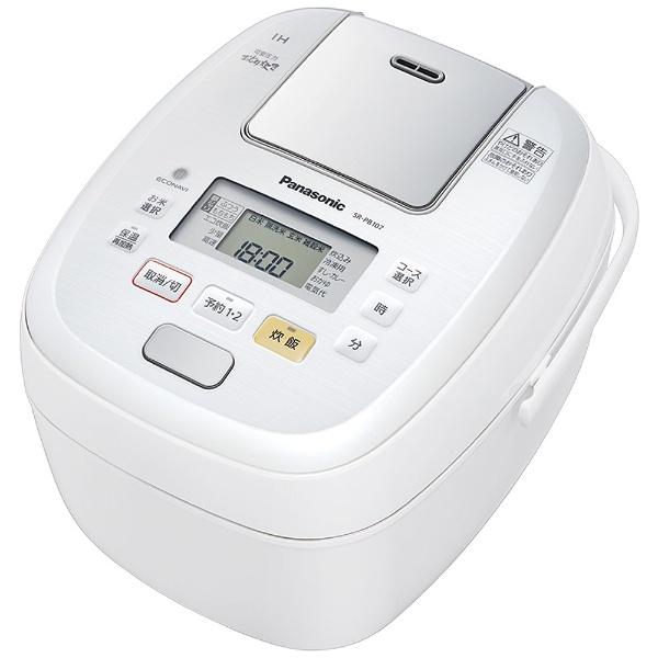 パナソニック 可変圧力IHジャー炊飯器 SR-PB107-W 炊飯器